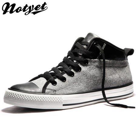Notyet帆布鞋