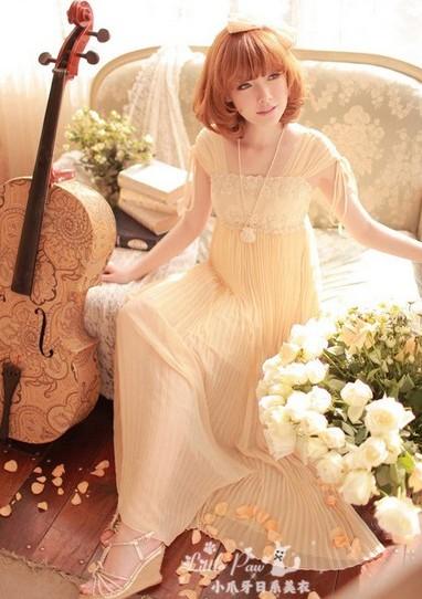 雪纺波西米亚长裙