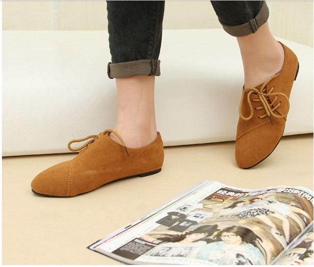 欧美英伦风系带单鞋