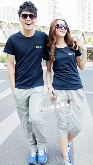 时尚印花短袖T恤