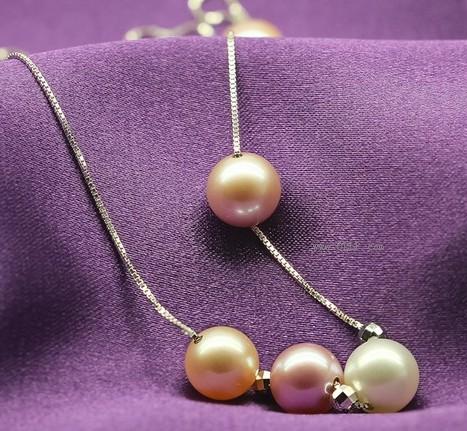极品天然珍珠项链