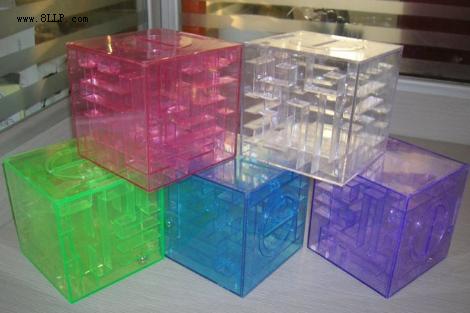 迷宫盒存钱罐