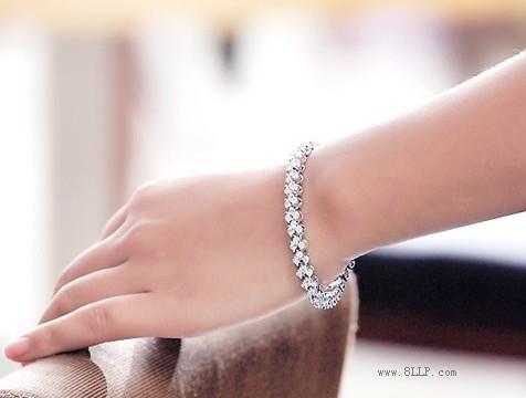 母亲节礼物锆石手链