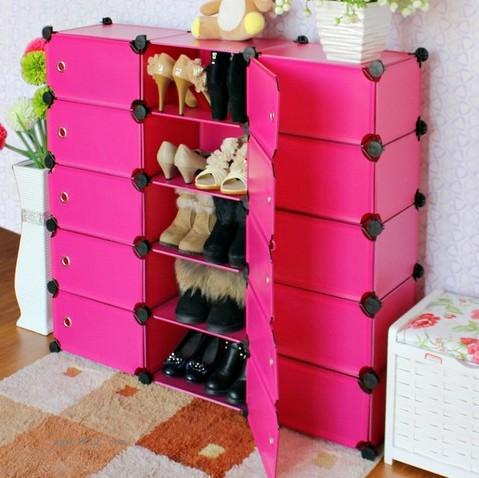 超薄大容量创意鞋柜