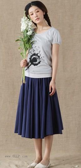 纯棉印染短袖T恤
