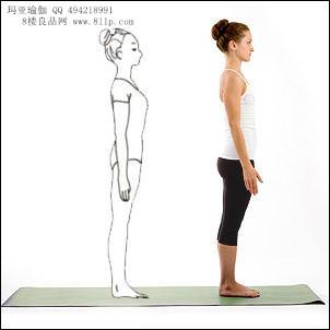 孕妇瑜伽的动作
