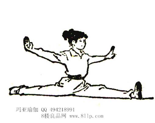 韧带练习之关于开肩、开胯