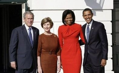 奥巴马的红衣女郎