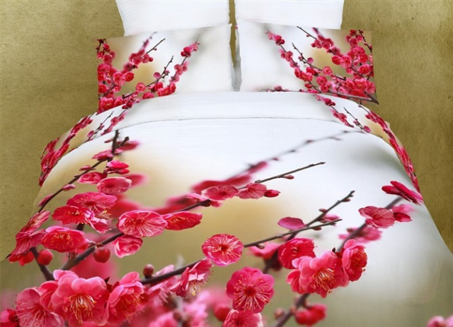 连床单都有3D的