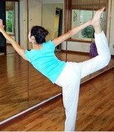 流瑜伽的四部分: 平衡体位练习
