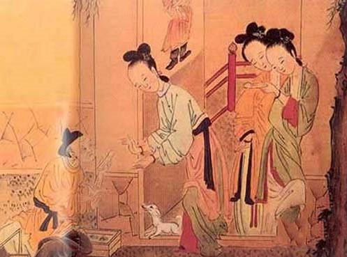 古代女子洞房让人脸红的情趣用品