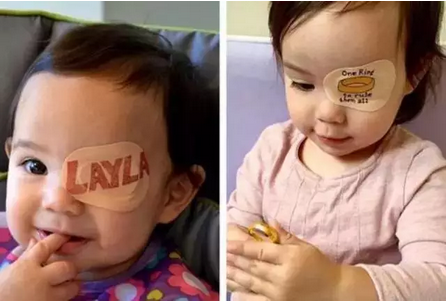 老爸坚持200天在女儿的眼罩上画画......