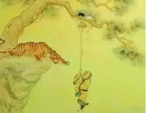 《一只饥饿的老虎》这个故事火了
